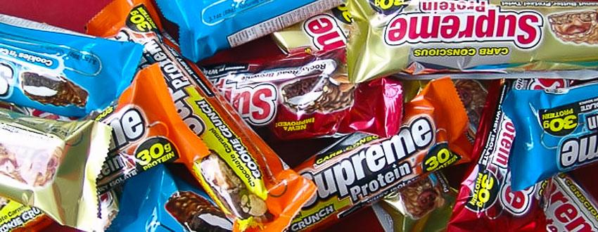Спортивное питание. Протеиновые батончики