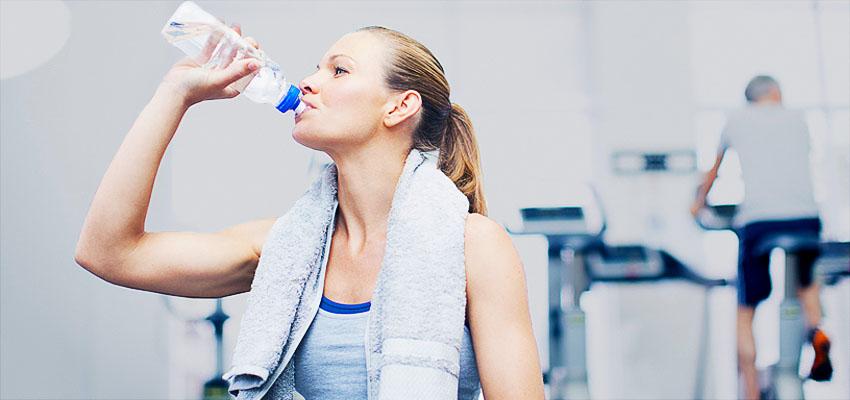 Вода во время тренировок