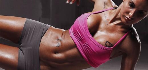 Фитнес упражнения для живота и талии