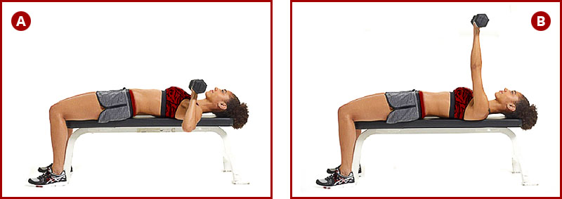 Эффективные упражнения для трицепса, бицепса и дельтовидных мышц