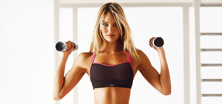 Эффективные упражнения с гантелями для женщин