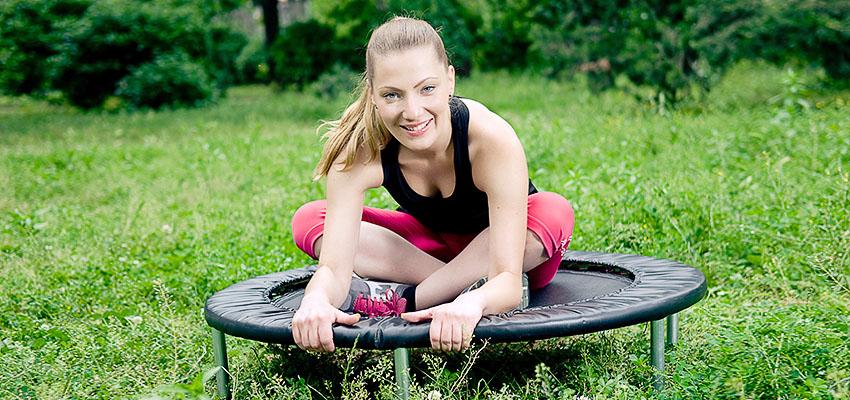 Фитнес на батутах