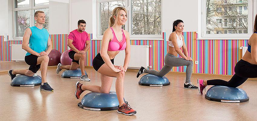 тренировки на платформе bosu balance