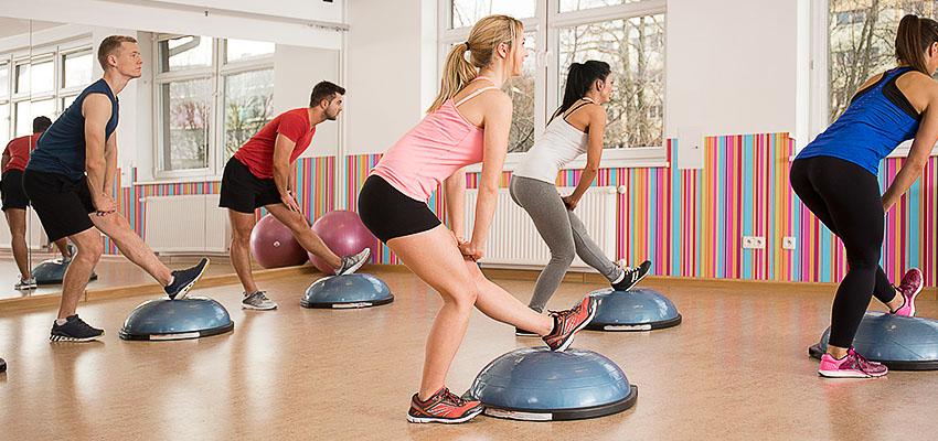 упражнения на тренажере bosu balance
