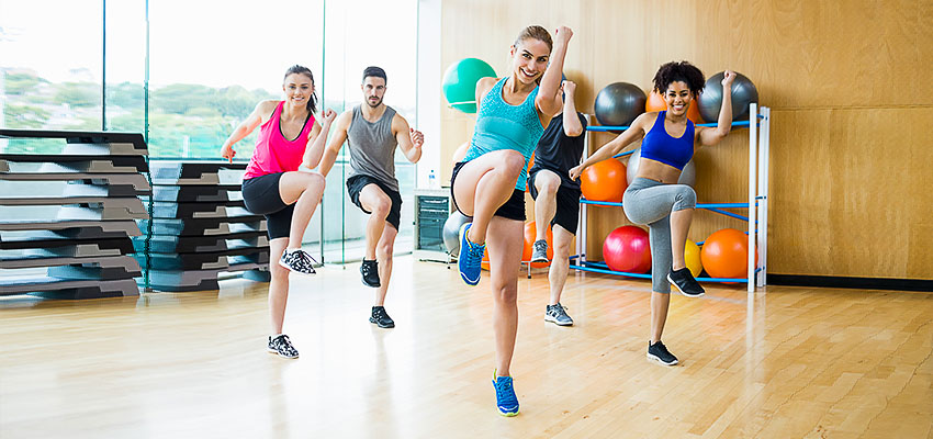 Вид фитнеса зумба