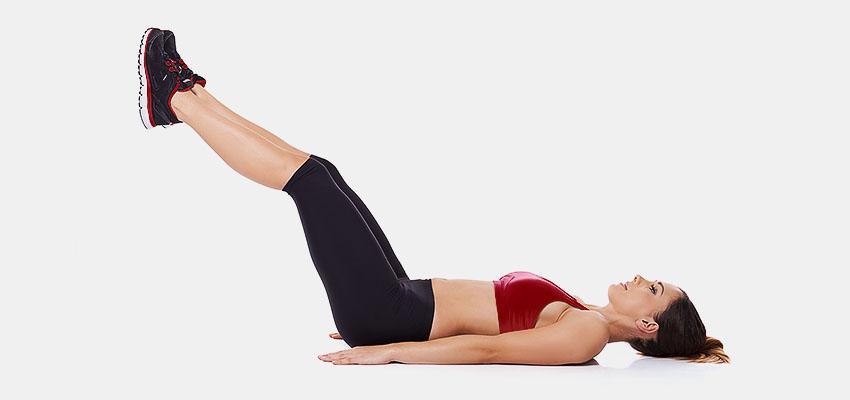 Подъем ног лежа: тонкости выполнения упражнения