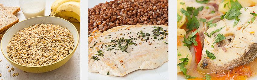 схема белкового питания для набора массы