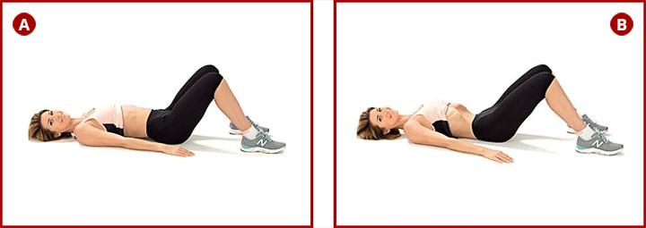 Выполнение упражнения вакуум