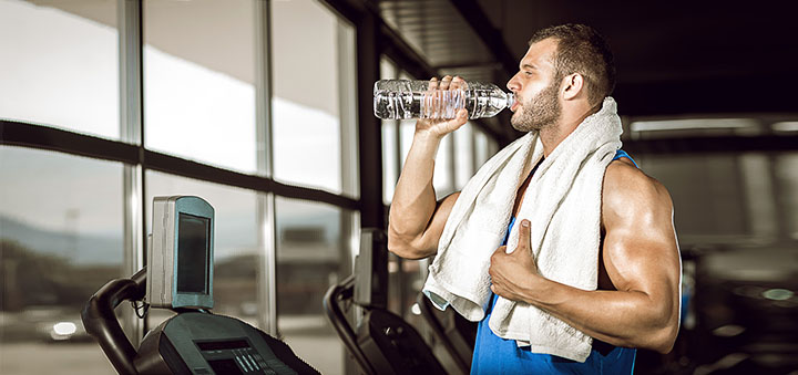 Is it possible to drink water during training