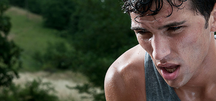 Потеря воды во время тренировки