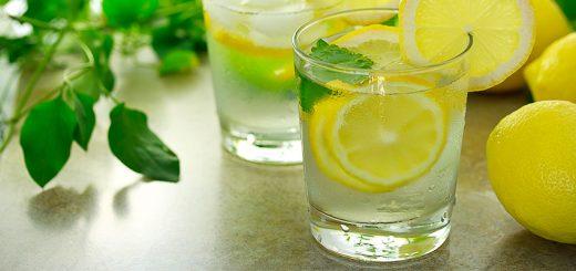 Вода с лимоном и ее польза для тренировок