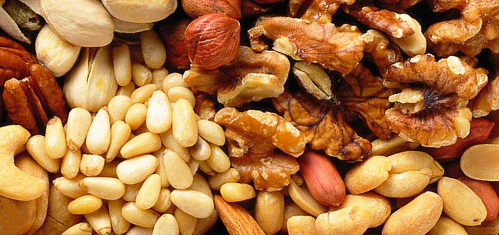 Витаминный состав орехов