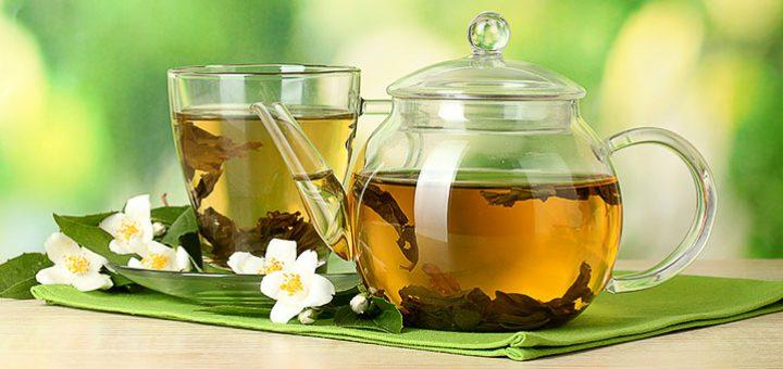 Зеленый чай до и после тренировки