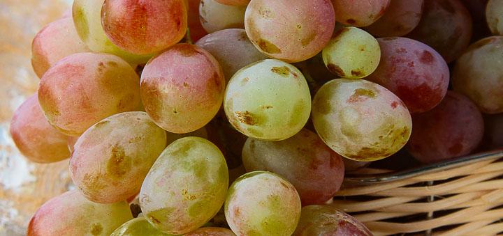 Виноград - источник углеводов
