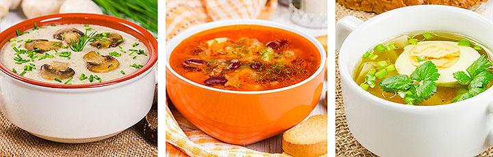 Суп для спортсмена