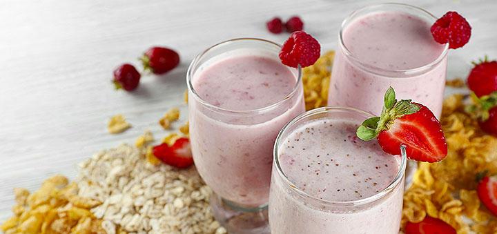 рецепт белкового коктейля для роста мышц