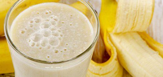 протеиновый коктейль с бананом
