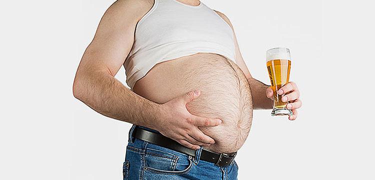 алкоголь и лишний вес