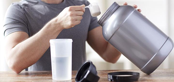 разведение протеина с водой