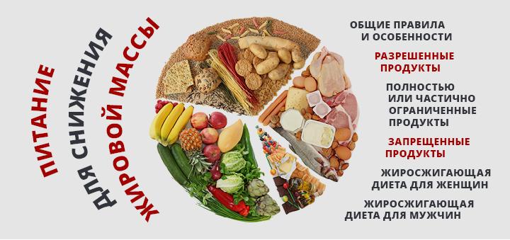Питание для снижения жировой массы