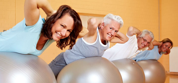 fitball in retirement age