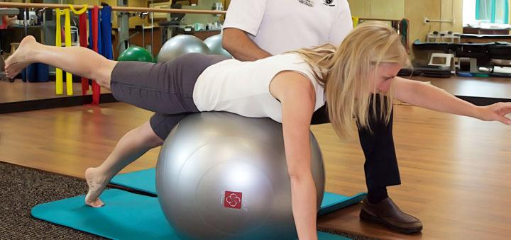 fitball rehabilitation