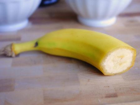половина банана