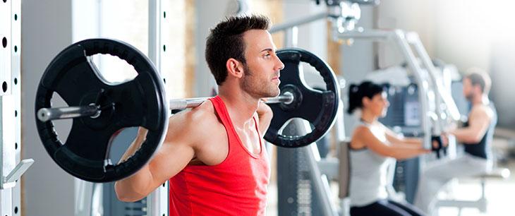 Фитнес и занятия в зале